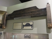 Wooden Wooden Grave Marker, headboard symbolizes resting place