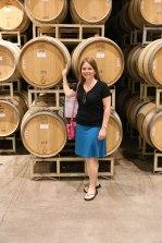 Inside the White Wine Barrel House!