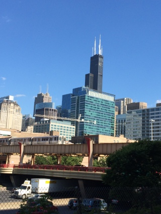 Cool view of the Sears Tower