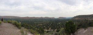 en route to Los Alamos