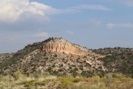 On the way back to Santa Fe