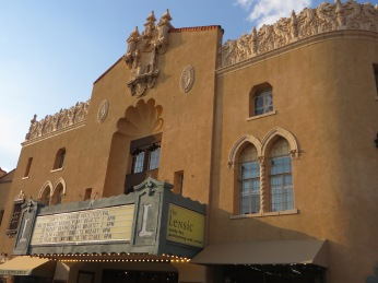 The historic Lensic theater where we saw Flamenco and where we will see One Man Breaking Bad