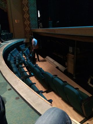 Raising up a few new rows, our seats included!