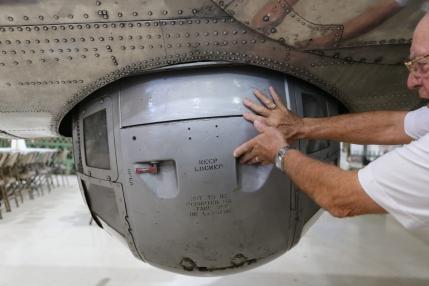 Ball Turret gunner position
