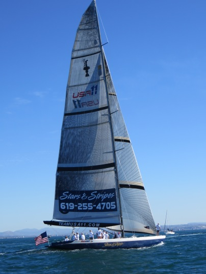 Speaking of Pro's - America's Cup Stars & Stripes