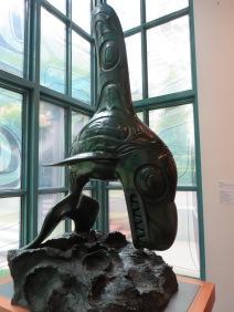 Killer Whale, bronze