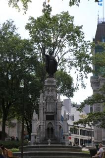 Samuel de Champlain monument
