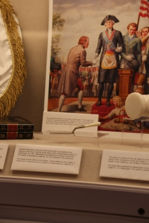 Trowel used by Washington at the Capitol cornerstone event