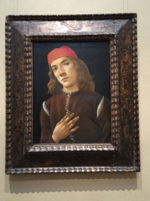 Portrait of a Youth - Botticelli