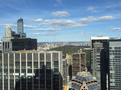 View from Deloitte office at 30 Rock