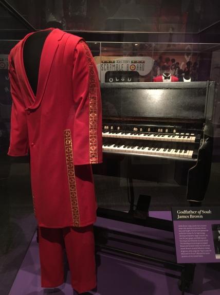 James Brown's jumpsuit & organ