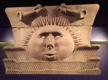 Sunstone Capital - limestone from the Mormon temple at grand temple at Nauvoo, IL (1846)