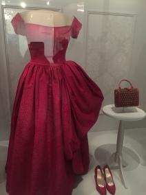Mamie Eisenhowser, Evening Gown by Nettie Rosenstein (1957)