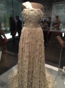 Michelle Obama, Inaugural Gown, encrusted with Swarovski crystals by Jason Wu (2009)
