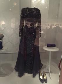 Hillary Clinton, Inaugural Gown by Sarah Phillips & Barbara Matera (1993)