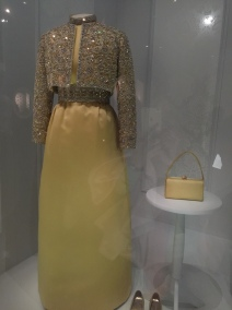 Patricia Nixon, Inaugural Gown, encrusted with Austrian crystals by Karen Stark for Harvey Berin (1969)