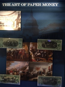 Converting Art into Currency (1863, with historically themed paintings on the reverse)