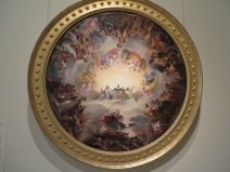 Study for the Apotheosis of Washington in the Rotunda of the US Capitol Building, Brumidi (1859)