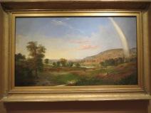 Landscape with Rainbow, Duncanson (1859)