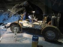 Unfolding Lunar Roving Vehicle