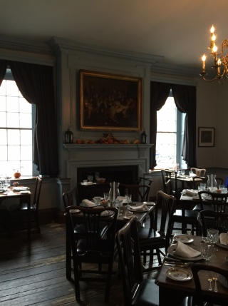 Gadsby's Tavern, George Washington was a regular!