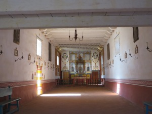 View into the church