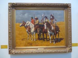 Horses, Mules and Men - Howard Terpning