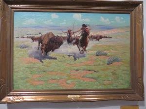 Buffalo Hunt, Robert Amick