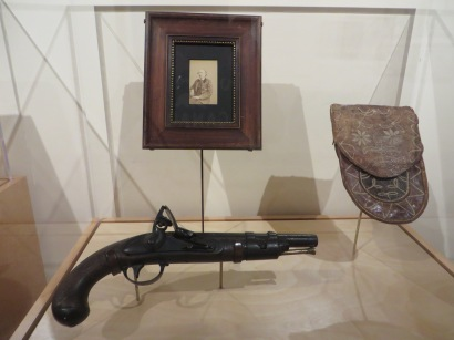 Kit Carson's pistol and last known photo