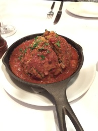 The best meatballs ever at Lavo!
