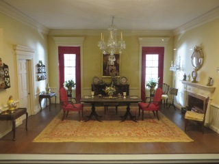 American Federal Dining Room, 1790-1820
