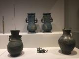 Wine vessels, Eastern Zhou dynasty, 5th-7th Centuries BC