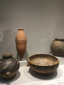 Earthenware of the Neolithic Period and Early Dynasties (as far back as 8000 BC!)