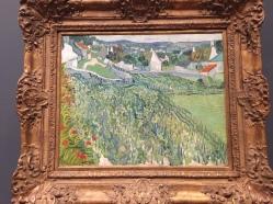 Vineyard at Auvers, van Gogh